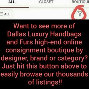 Handbags - We have thousands of designer items ladies & men